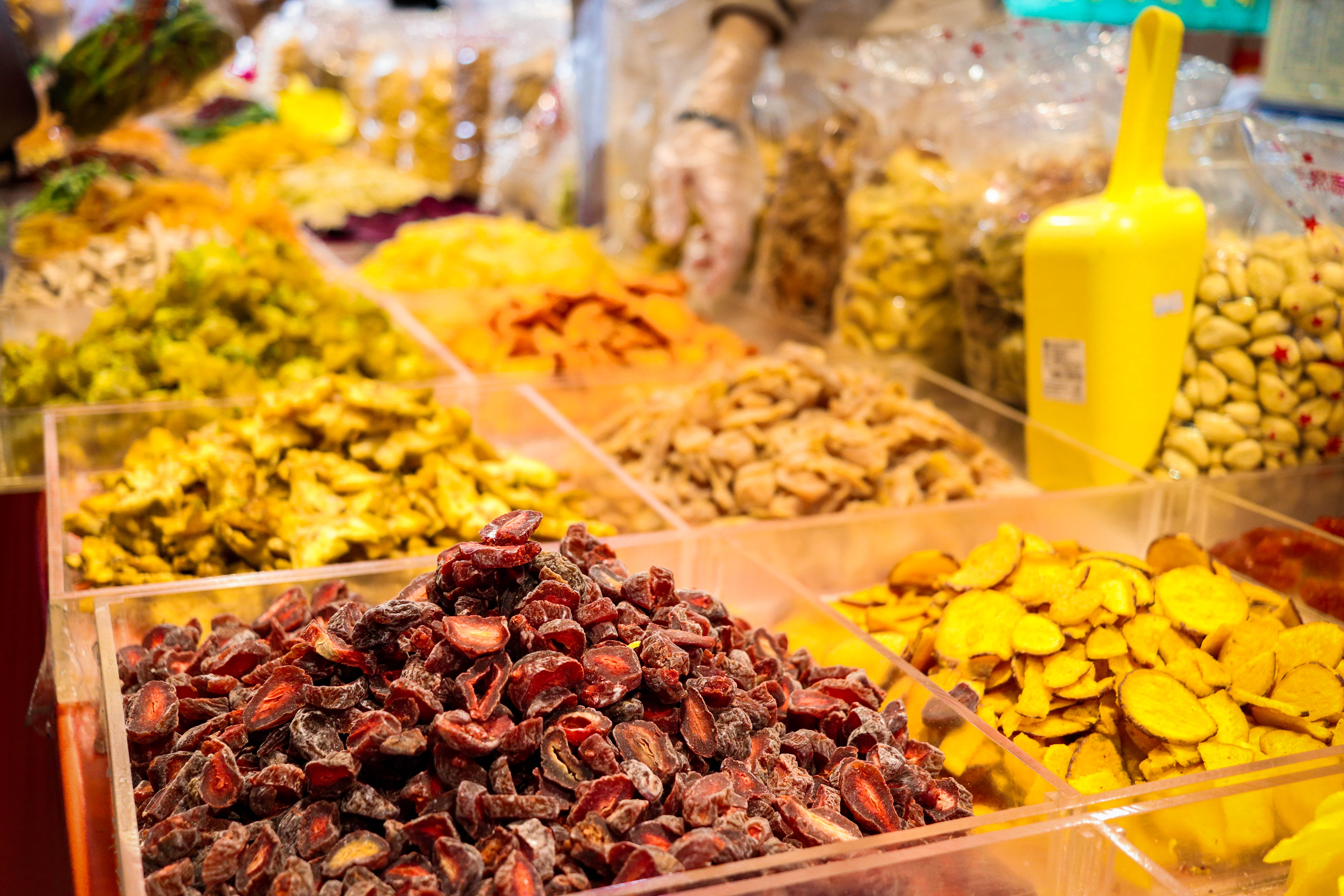 a wide variety of dried fruits for sale